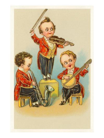 Band of Little Boys--Art Print