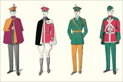 Band Uniforms--Art Print