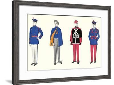 Band Uniforms--Framed Art Print