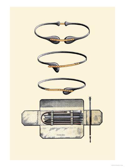 Bandages and Trusses-Jules Porges-Art Print