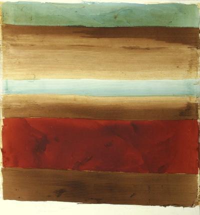 Banded Abstract II-Ethan Harper-Art Print