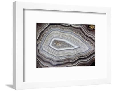 Banded Agate, Sammamish, Washington-Darrell Gulin-Framed Photographic Print
