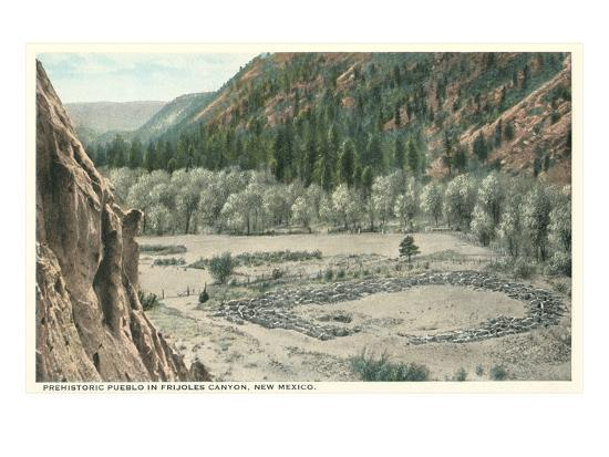 Bandelier National Park, New Mexico--Art Print