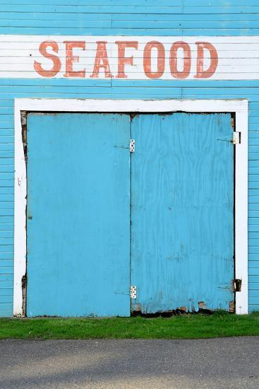 Bandon Oregon Fish Market near Old Town on the Coquille River- TFoxFoto-Photographic Print