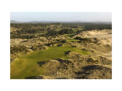 Bandon Trails Golf Course, Hole 1-J.D. Cuban-Premium Photographic Print