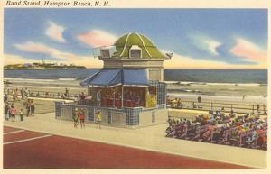 Bandstand, Hampton Beach, New Hampshire
