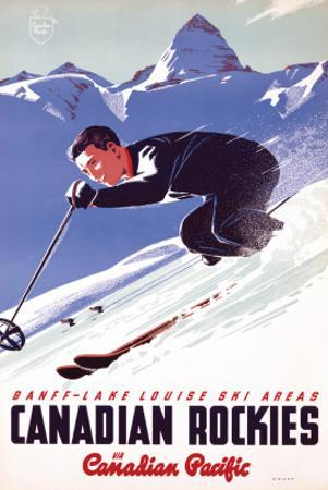 Banff-Lake Louise Ski Areas, Canadian Rockies