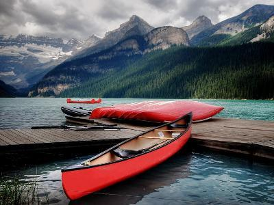 Banff National Park (Lake Louise)-Rex Montalban Photography-Photographic Print