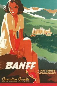 Banff Travel Poster