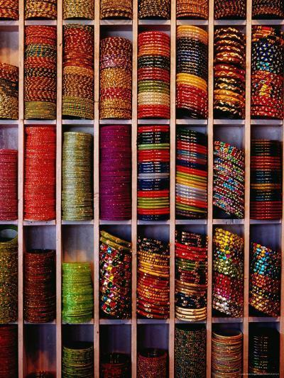 Bangle Shop at Tripolia Bazaar-Richard I'Anson-Photographic Print