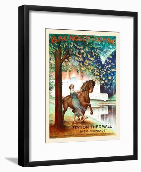 Bangoles De L'Orne-Charles Léandre-Framed Art Print