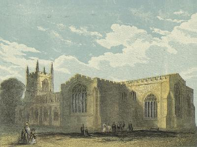 Bangor Cathedral, South East View--Giclee Print