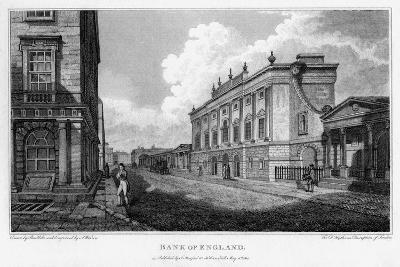Bank of England, City of London, 1805-A Warren-Giclee Print