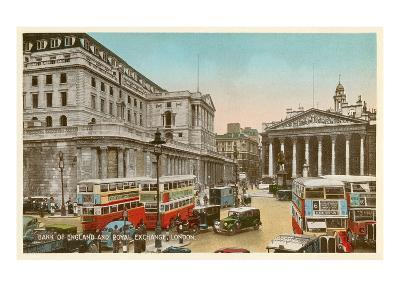 Bank of England, Royal Exchange, London--Art Print