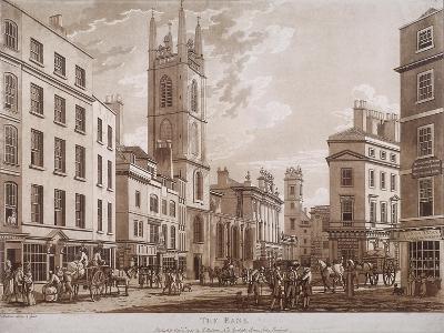 Bank of England, Threadneedle Street, London, 1781-Thomas Malton II-Giclee Print