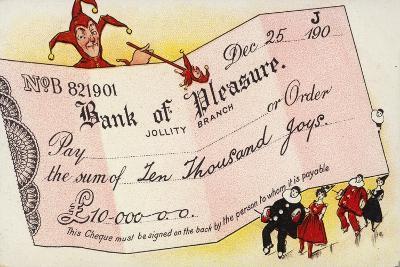 Bank of Pleasure--Giclee Print