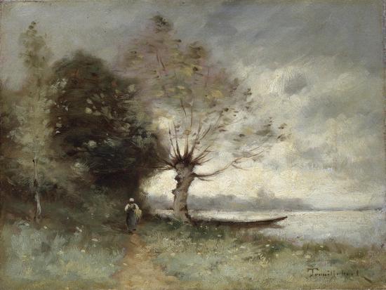 Bank of the Loire Near Chouze, 1893-Paul Desire Trouillebert-Giclee Print