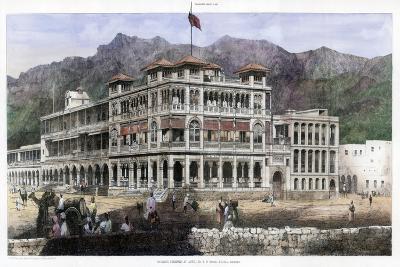 Banking Premises at Aden, January 1887-C Kell-Giclee Print