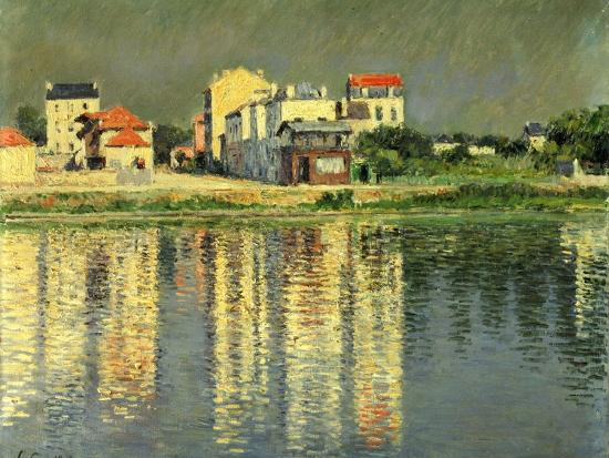 Banks of the Seine at Argenteuil, 1889-Gustave Caillebotte-Giclee Print