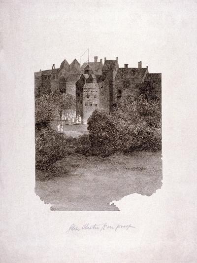 Bankside, Southwark, London, C1560--Giclee Print