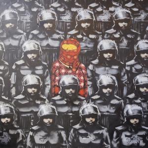 24th Street #2 by Banksy