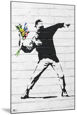 Banksy- Rage, Flower Thrower by Banksy