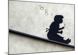 Bubble Girl by Banksy