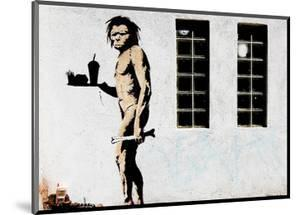 Cave Man Fast Food by Banksy