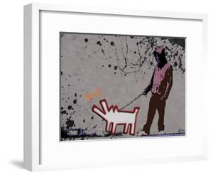 Choose the dog by Banksy