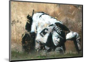 Crouching Policeman by Banksy