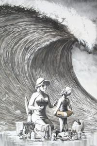 Dismal Beach by Banksy