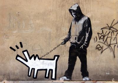 Dog by Banksy