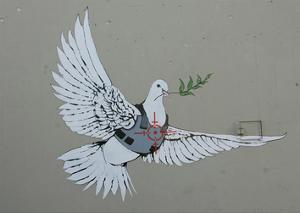Dove by Banksy