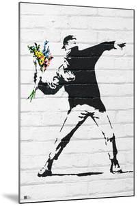 Flower Bomber by Banksy