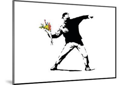 Flower Chucker by Banksy