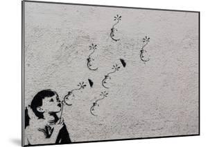 Flower by Banksy