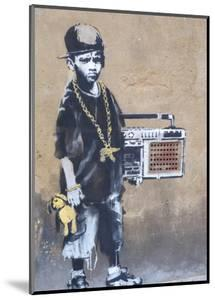 Ghetto Boy by Banksy