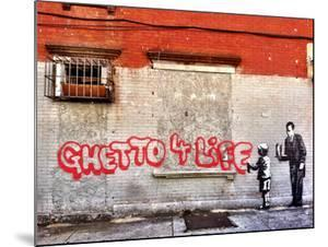 Ghetto for LIfe by Banksy