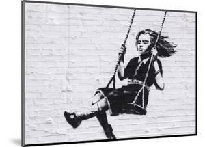 Girl on a Swing by Banksy