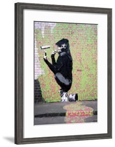 Gorilla by Banksy