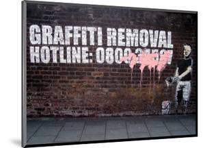 Graffiti Removal by Banksy