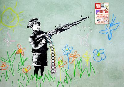 Gun by Banksy