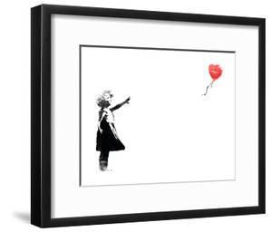 Heart Balloon by Banksy