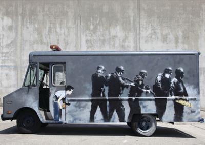 Hide by Banksy