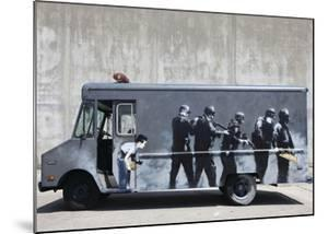 Hide by Banksy