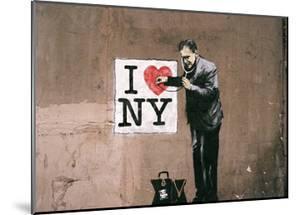 I Love NY by Banksy