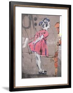 Kiss by Banksy