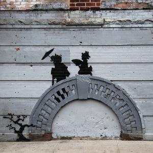 NYC Japanese Bridge by Banksy