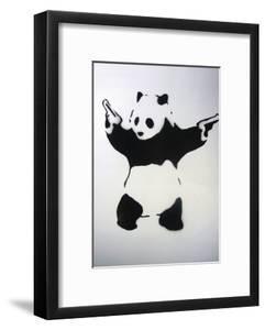 Pandamonium by Banksy