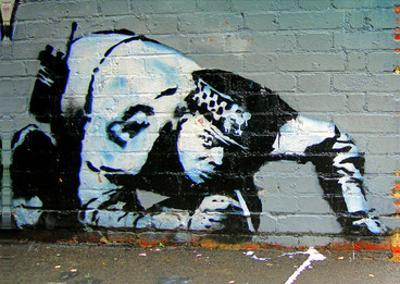Policeman by Banksy